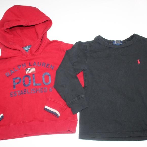 Polo Ralph Lauren Boys Full Zip Fleece Hoodie Black 5